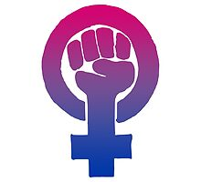 Bisexual Feminist by queenbeedigital