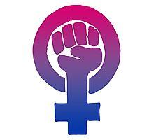 Bisexual Feminist Photographic Print