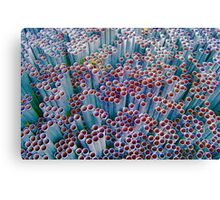 Pipes into Bubbles ~ pillow collection Canvas Print