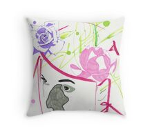 Hyper Portrait 9 Throw Pillow