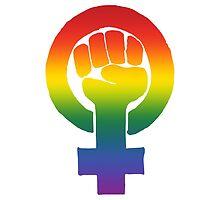 Gay/Lesbian Feminist by queenbeedigital