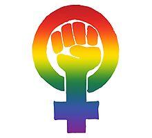 Gay/Lesbian Feminist Photographic Print