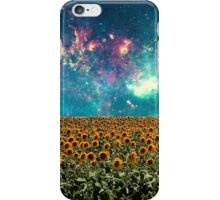 Sunflowers And Space iPhone Case/Skin