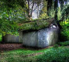 Woodsmans Hut by Mark Mair