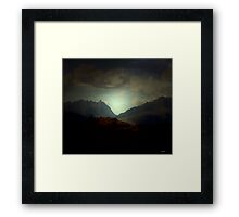 Third Movement: In the Leaving. Framed Print