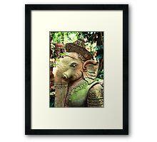 Ganesha, Chiang Mai, Thailand Framed Print