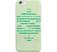 trendy,mint,pattern,anchored in christ,vector art,digital iPhone Case/Skin