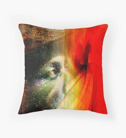 burn through..... Throw Pillow