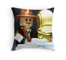 Fortune & Glory Throw Pillow