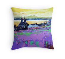 Bowmore Distillery Study Throw Pillow