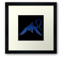 pokemon articuno ice space anime shirt Framed Print