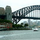 Sydney Harbour Bridge 2 by Maggie Hegarty