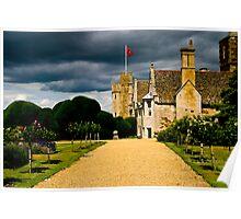 rockingham garden Poster