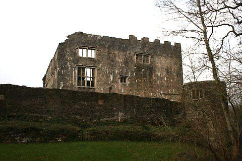 Berry Pomeroy Castle by joybliss
