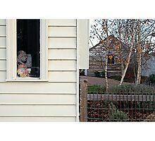 """Window with Fish"" Photographic Print"