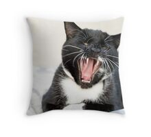 The Domestic Beast Throw Pillow