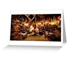 Venetian Kleptomaniac Carpenter Greeting Card