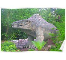Crystal palace dinosaur Poster