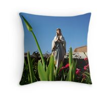 Mary's Mount Throw Pillow