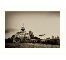 North Weald - The Squadron Art Print