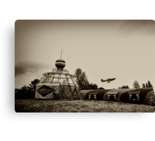 North Weald - The Squadron Canvas Print
