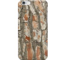 Red Tree Texture iPhone Case/Skin