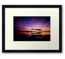 Reflections In Paradise Framed Print