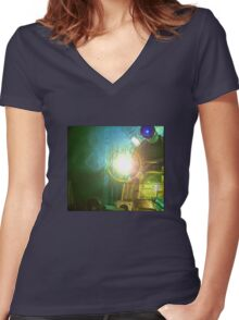 Doctor Who and the Daleks Women's Fitted V-Neck T-Shirt