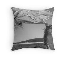 Beach Breeze Throw Pillow