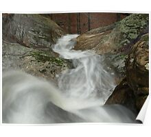 Falls at Jackson Hole (Illinois) Poster