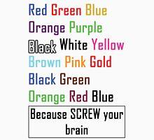 Screw Your Brain Puzzle T-Shirt