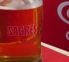 Ola ! Sagres Beer Sticker