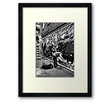 Urban Art. Framed Print