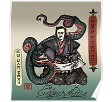 Samurai Poe Poster