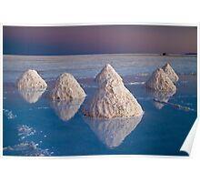 Salt mounds Poster