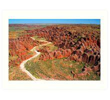 """Journey Through The Beehives"" Purnululu National Park, Western Australia Art Print"