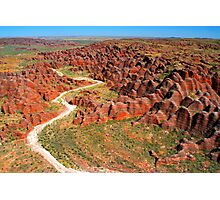 """Journey Through The Beehives"" Purnululu National Park, Western Australia Photographic Print"