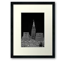 Cleveland Union Terminal Building Framed Print