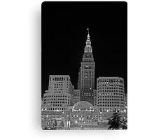 Cleveland Union Terminal Building Canvas Print