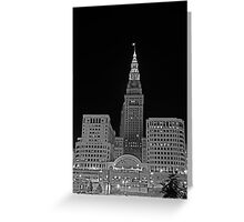 Cleveland Union Terminal Building Greeting Card
