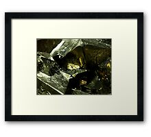 The Hidden Land - Fortress Framed Print