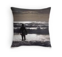 Looking for perfection Throw Pillow