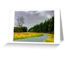 Woodland Drive Greeting Card