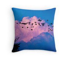 Magenta Dream Throw Pillow