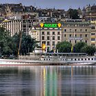 Geneva Morning HDR by David Freeman