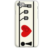 I Love Driving Manuals (Large) iPhone Case/Skin
