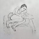 Life Drawing 6 by Mike Paget