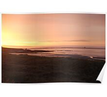 Dusk over Northumbria Poster