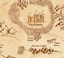 Marauder's Map Sticker