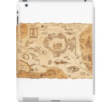 Marauder's Map iPad Case/Skin